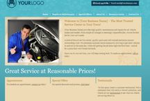 Car repair website