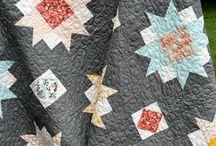 Quilts - dark background