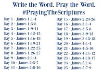 Write the Word Pray the Word