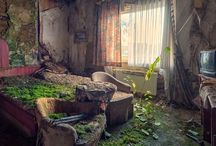 Old and abandoned