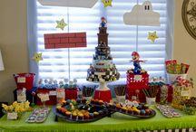 Sweet table Mario Bros
