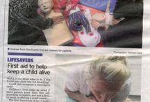 Mini First Aid Media / Mini First Aid regularly appear in the press!