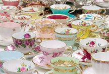 Teaware / Beautiful teacups, teapots, plates, etc