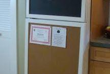 Kitchen Noticeboards