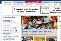 Dictionaries & Search / Online dictionaries, thesaurus, and search tools