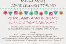 CONTEST GHIRLANDIAMO INSIEME IL MIO GIPSY CARAVAN / CONTEST in occasione di ManualMente (25-28 settembre Torino Lingotto Fiere)