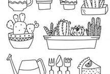 planten tekenen