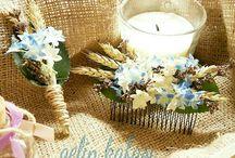 wedding ideas / Bride Crown, Pearl Crown ,Fower Crown , Bouquet , Boutonniere , Bridesmaid  We take customised orders and design in the style that  you like. Düğün Hazırlıkları, İnci Taçlar, Çiçekli Taçlar, Damat Yaka Çiçeği , El buketleri , nedime aksesuarları