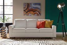 Les salons / Des sofas, des sectionnels, des étagères et des tables à café.  Des idées pour le salon dont vous rêvez.
