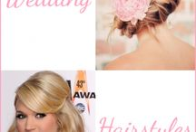 Our wedding / Hairstyles