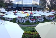 take cover: shading your event w/ umbrellas and tents