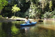 The Great Outdoors / With the revitalization of the Autauga Creek Canoe Trail and the upcoming Hiking and Biking Trails, Prattville is quickly turning into a community that enjoys the great outdoors.