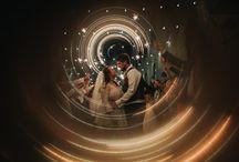 creative wedding photography - shanna m. photography / real weddings - creatively