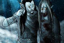 Midir the Shyest Vampire / My character from TES V: Skyrim.