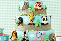 Grays 3rd Birthday Zoo Cake