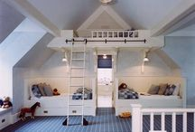 *Keeping your Head in the clouds* / Loft beds, bunk beds & nooks up high.