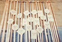 Wedding_Table Escorts / by Catherine Lodigiani
