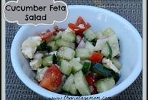 Salads / Fresh and healthy salad ideas - #summer #recipes #salad / by Becky at Crafty Garden Mama