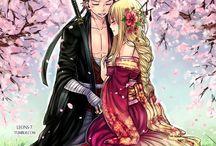 Fairy tail Natsu a Lucy