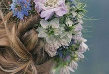 Bridal hair & beauty suggestions / Wedding hair & beauty styles & tips