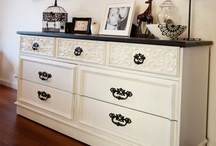 Home decor-black and white/cream and black / by Courtney Jones-Hunt