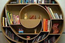 Libraries / Estanterías. Libros y más libros