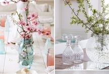 Spring Wedding / A board with everything you could want to be inspired by a spring season wedding.