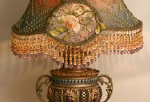Antique lamps / by Vicki Loraas