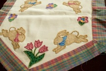 Handmade--Applique and Quilting