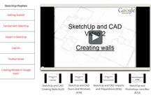 SketchUp 3D / SketchUp is a free 3D software. Very easy to used.  http://www.sketchup.com/learn/videos?playlist=58 / by TinyHouseMeetup