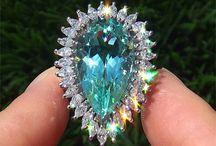 Tourmaline Paraiba / Piedras preciosas aplicadas a la alta joyería