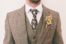 Wedding groom outfit