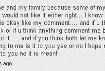 Funny YouTube Comments / I get some ridiculous/hilarious comments on my videos...