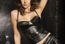 Second Skin Lingerie / Faux Leather Lingerie, giving you a figure hugging second skin look. absolutely gorgeous