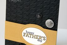 Stampin Up - Masculine Cards