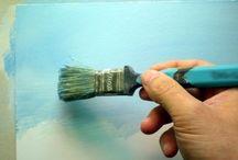 Akrylmaling - step by step