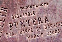Taller Puntera: el espacio / Este es nuestro taller, nuestro espacio de trabajo www.puntera.com  #artesanía #piel #cuero #leather #handmade #workshop #Madrid