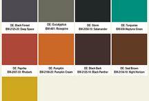 Midcentury colours