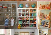 Play Room / Decorating and organizing