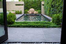 Цементные шары для сада