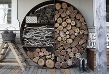 indoors wood storage