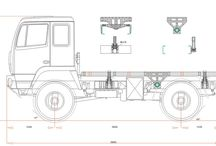 Pivoting frames and mounting campers