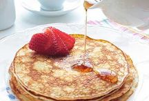 Pancakes / All shapes and sizes - Sweet and Savoury
