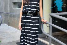 vestidos negros largos informal