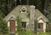 Cottages, Cribs, Crofts, Caravans ... / I could live here .....