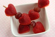Healthy Valentines DayIdeas / Healthy Valentines, DIY Valentines Day snacks, lunches, and dinners.