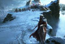 Games IX / Dragon age, Elder Scrolls, Witcher, Vampire Masquerade, Dishonored, Final Fantasy, Batman, Mass Effect, Alien Isolation, Bioshock, Silent Hill etc.