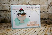 stampin up glaces