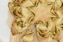 mooi en lekker brood boor bij lunch/dinner/borrel