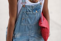 Overalls_dungarees / I will always be searching for the perfect denim dungarees